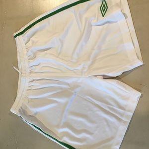 Umbro soccer uniform shorts